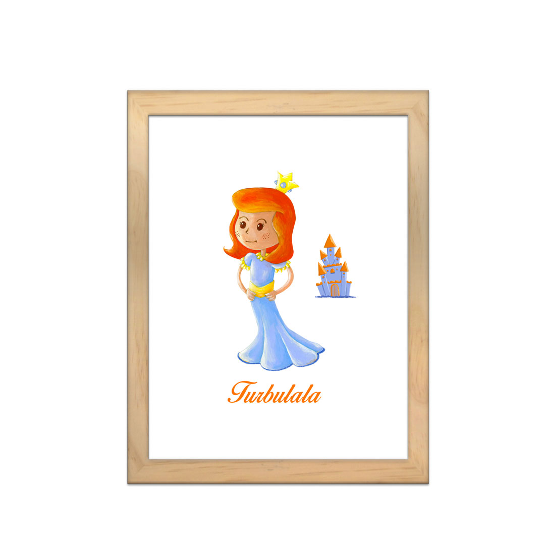 Cadre à personnaliser - Miniz & Vous - Turbulala La Reine