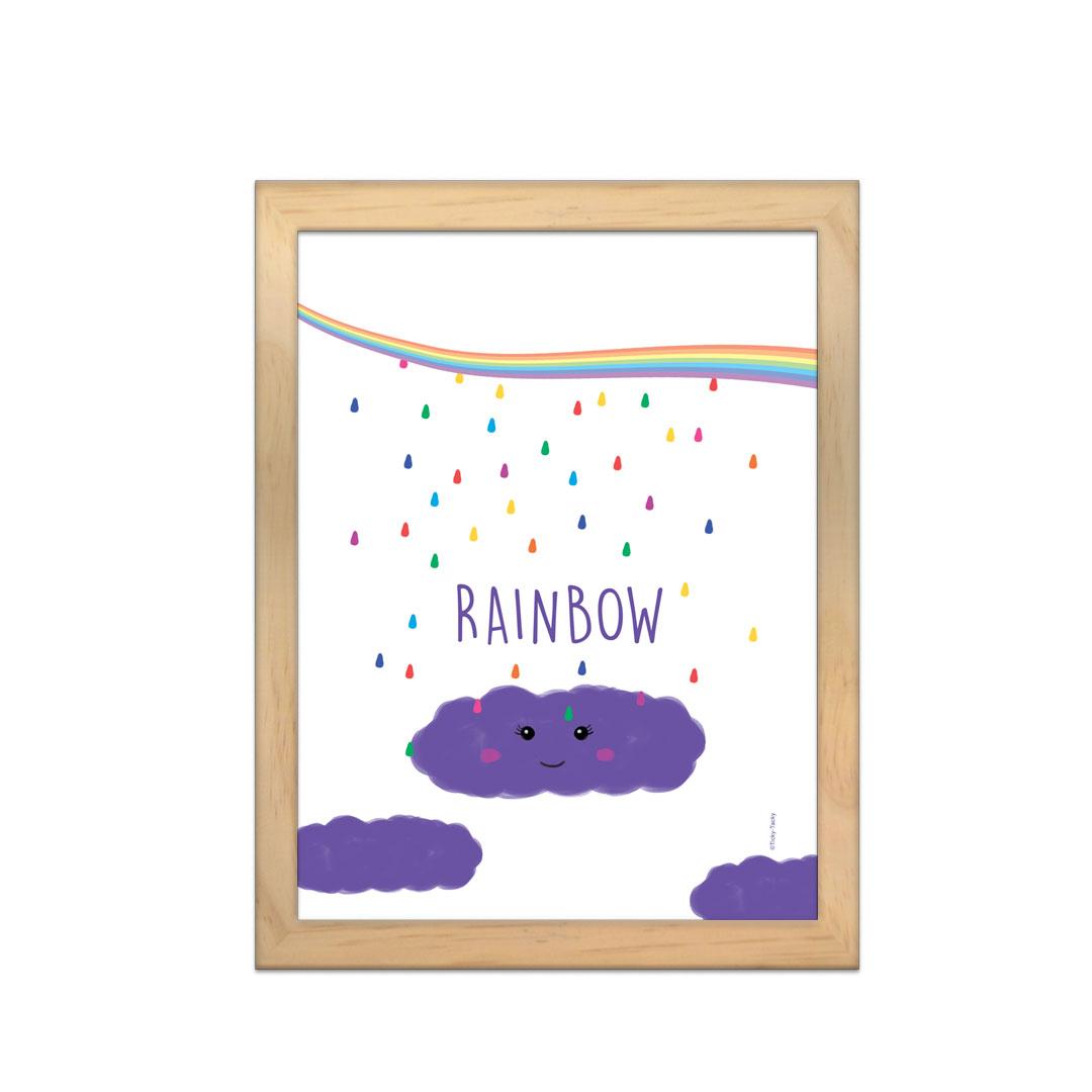 Cadre à personnaliser - Choubiz & Vous – Rainbow