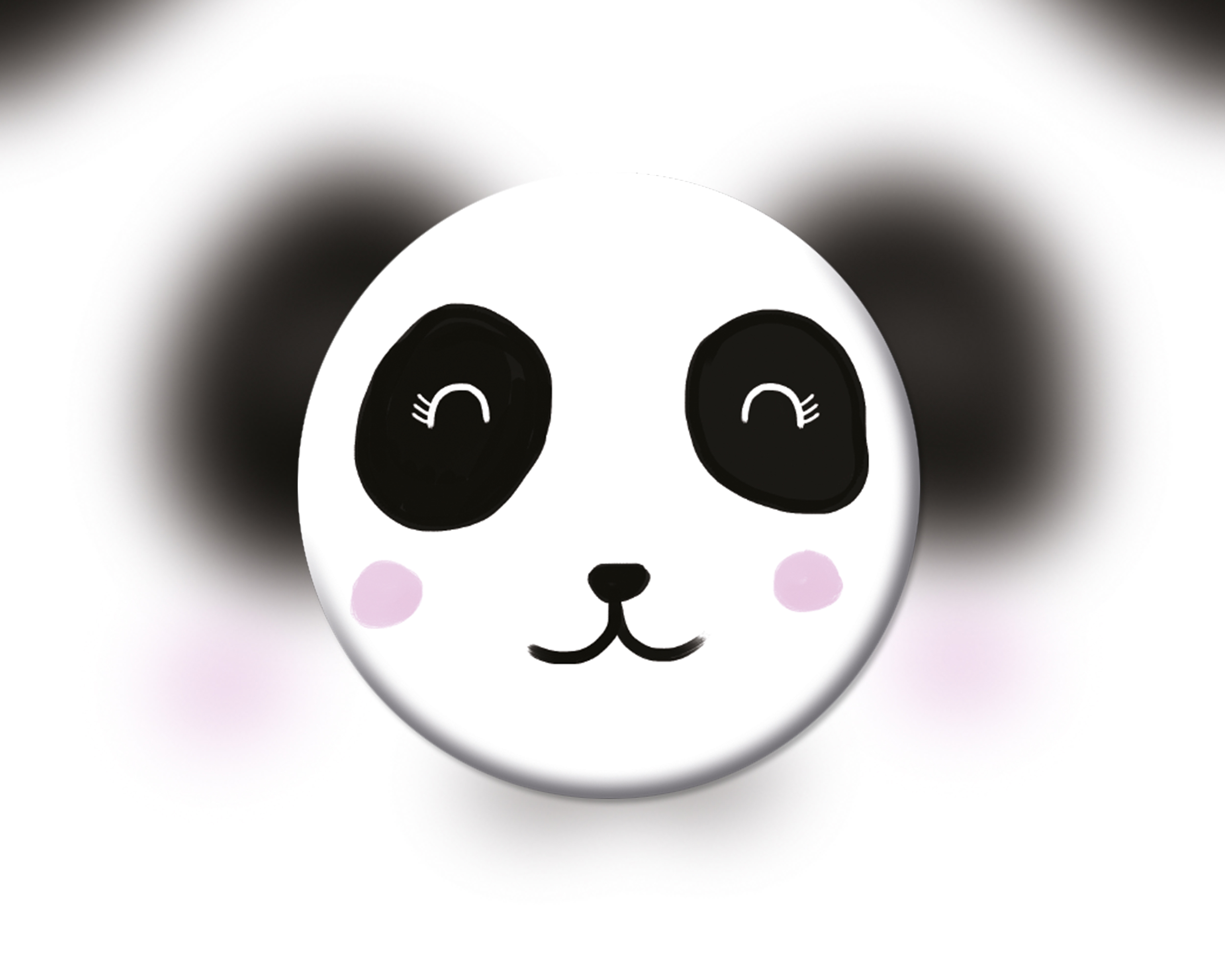 6 badges pour enfants | Anniversaire thème Panda