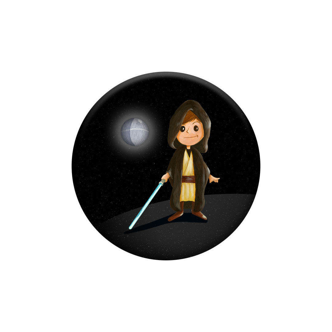 Miniz badge – Space inspiré de Star Wars