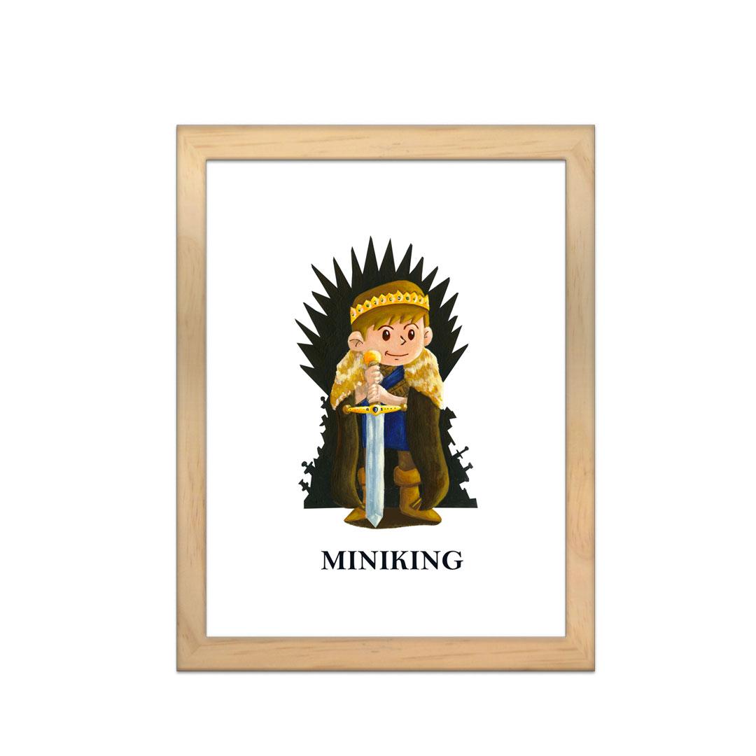 Cadre à personnaliser - Miniz & Vous - Miniking