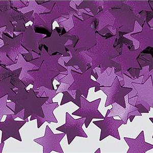 Confettis étoiles Mauve