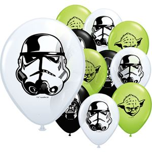 Ballons Star Wars - assortiment de 10 ballons