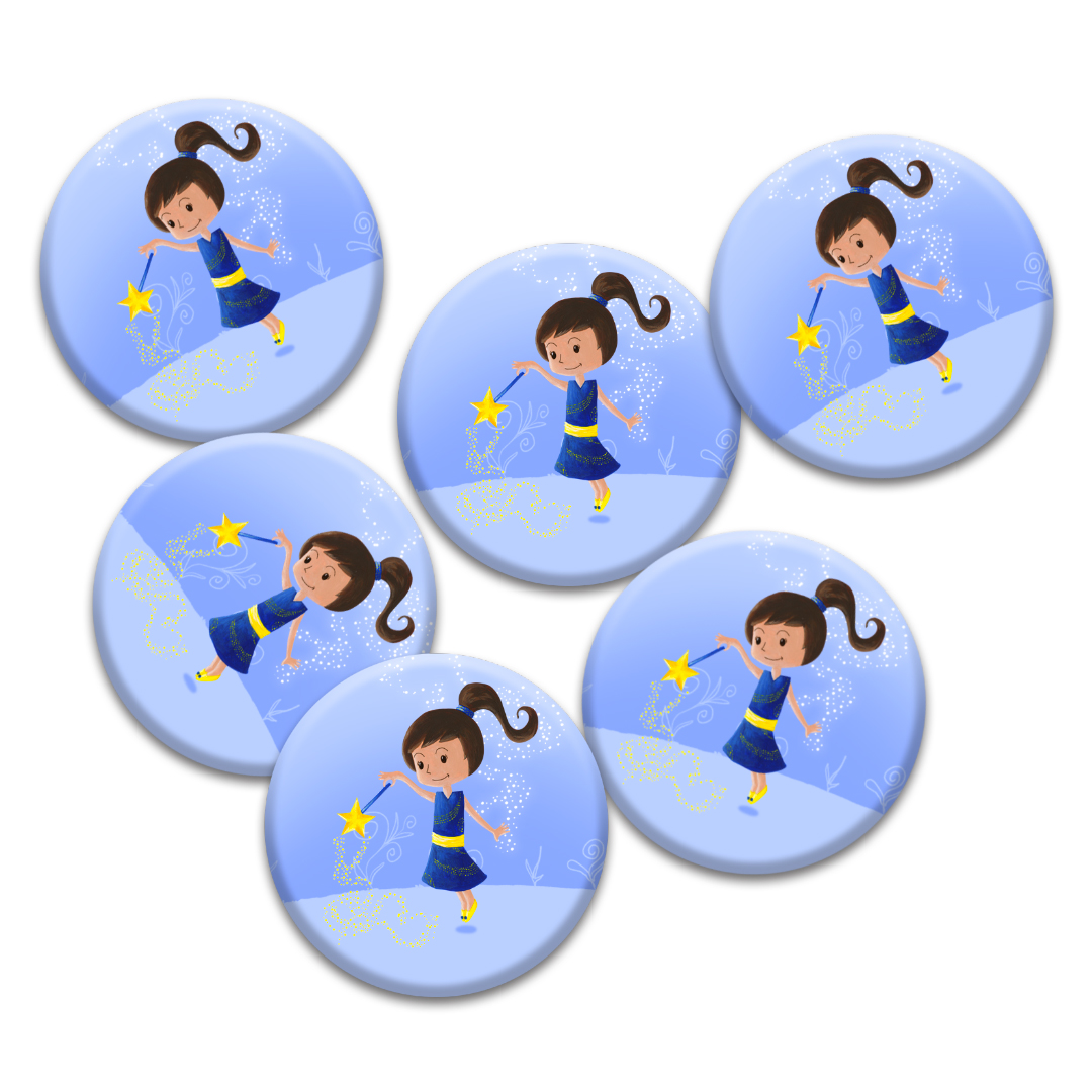 Ticky-Tacky-Miniz-Badge-Blue-x6