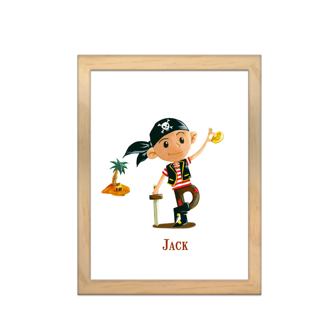 Cadre à personnaliser - Miniz & Vous - Jack
