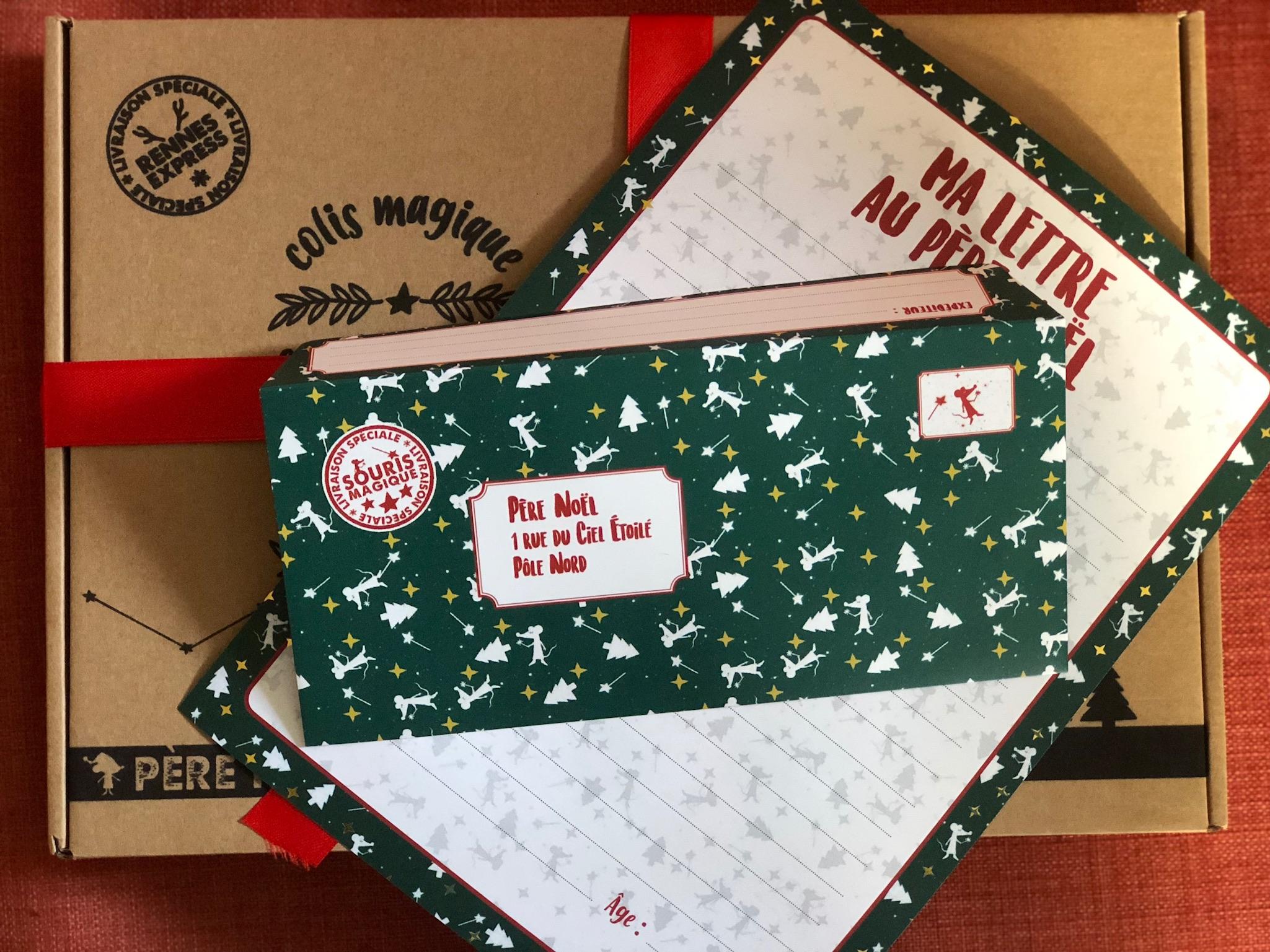 Kit : Ma Lettre au Père Noël - version étoiles