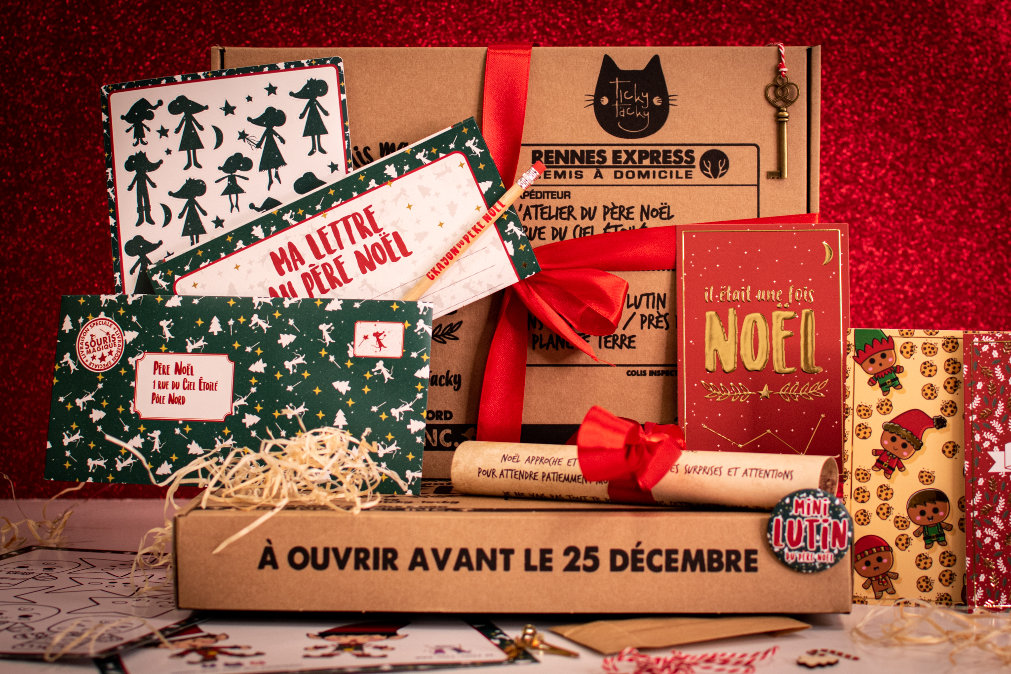 Box de Noël pour enfant en attendant le Père Noël
