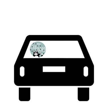 Ticky-Tacky-Stickers-Chat-Voiture