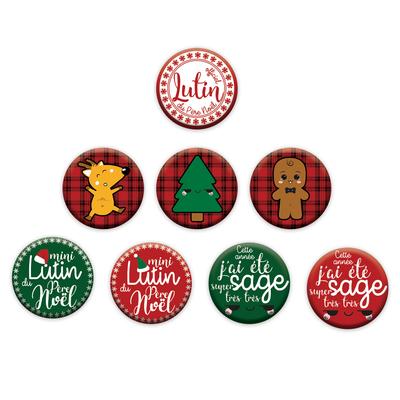 Ticky-Tacky-Noel-Badges