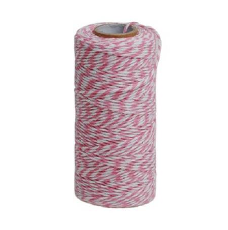 ficelle coton rose