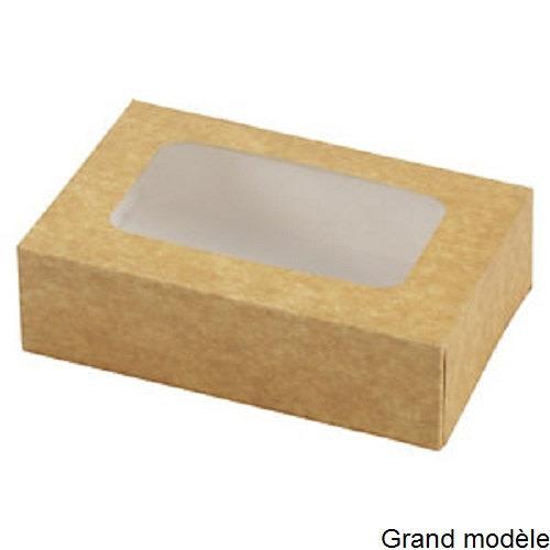 biscuits boite patissi re avec fen tre grand mod le boites sachets boites alimentaires. Black Bedroom Furniture Sets. Home Design Ideas