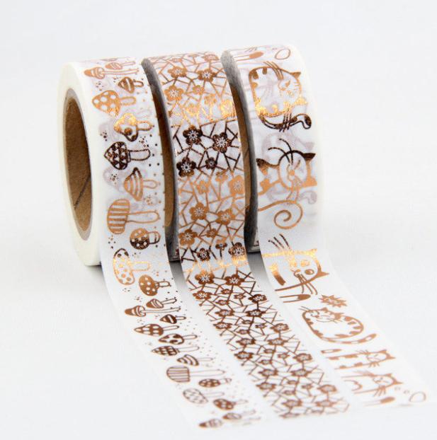 Foil tape - Masking tape dorée