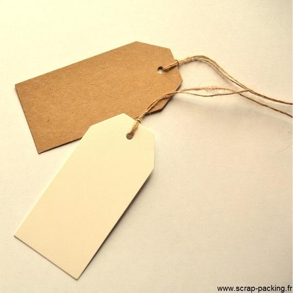etiquette tag kraft