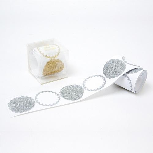sticker glitter paillette