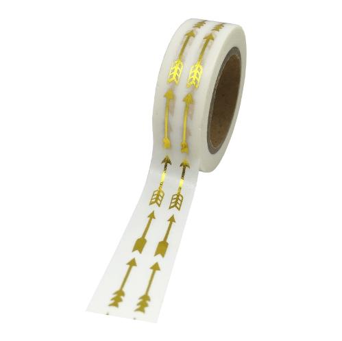 Flèches - Masking tape dorée