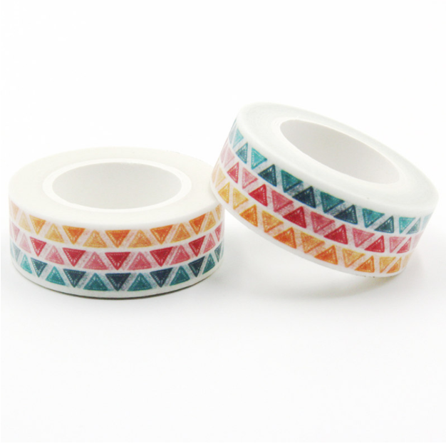 masking tape triangle couleur