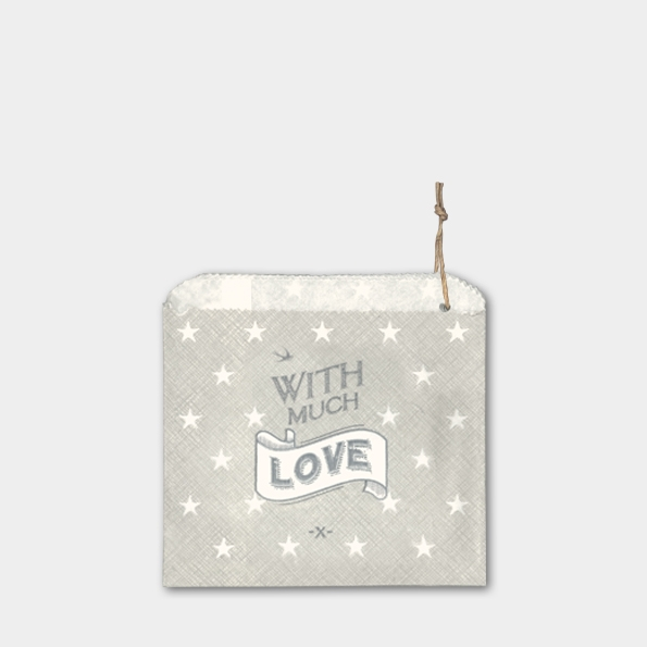 With love - 45 sachets papier