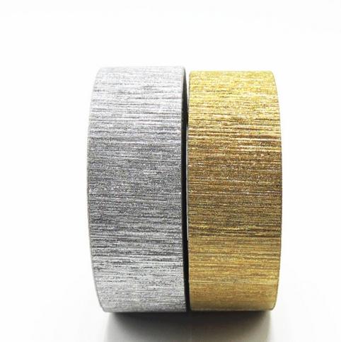 Brillant - Masking tape or ou argent