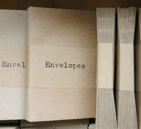 petite enveloppe papier