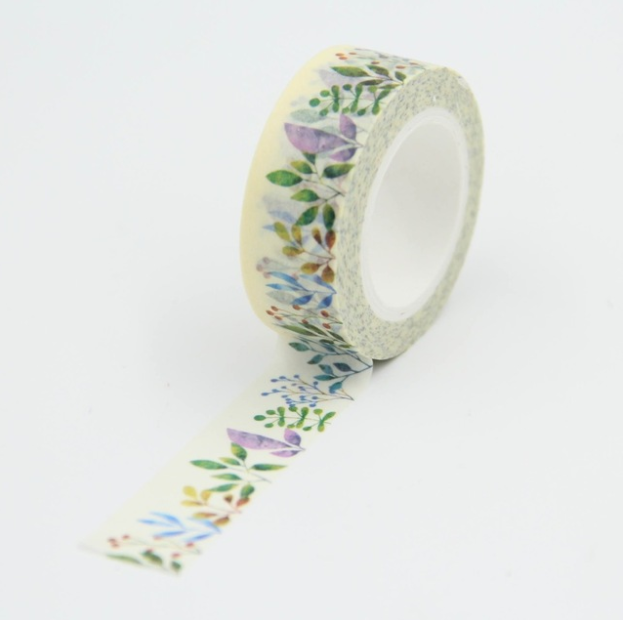 Fleurs - Masking tape 10m