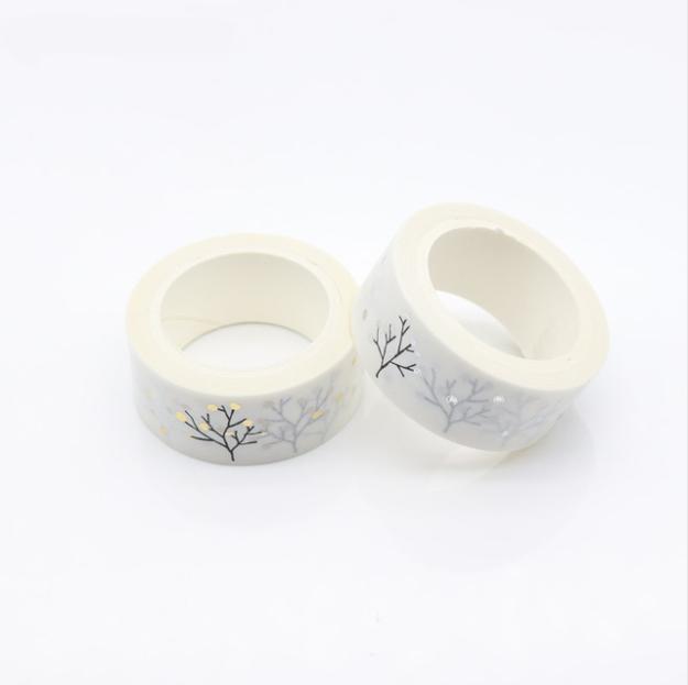 Tree - Masking tape zen {or ou argent}