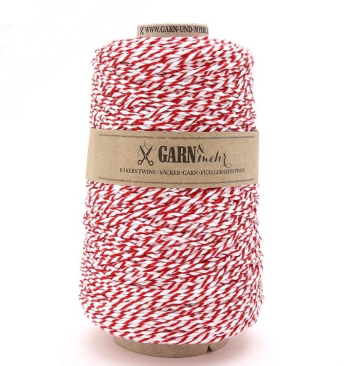 Géant - Gros rouleau de baker twine rouge