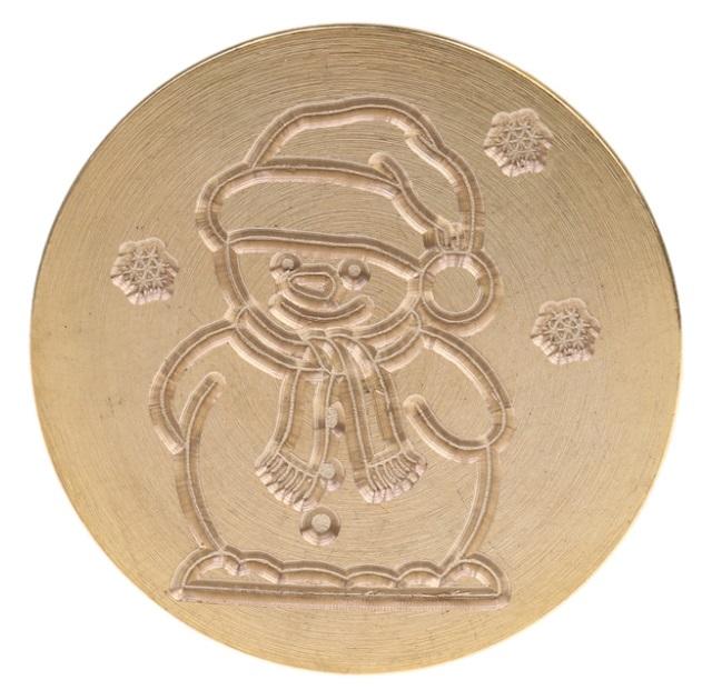 sceau bonhomme de neige