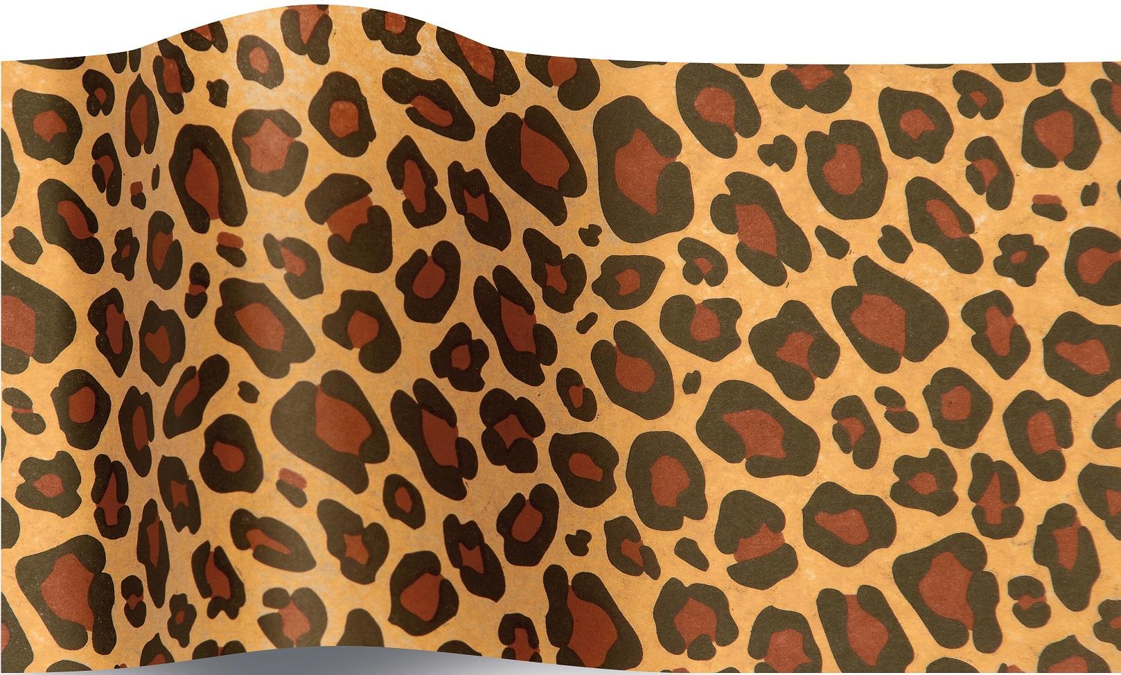 papier de soie leopard