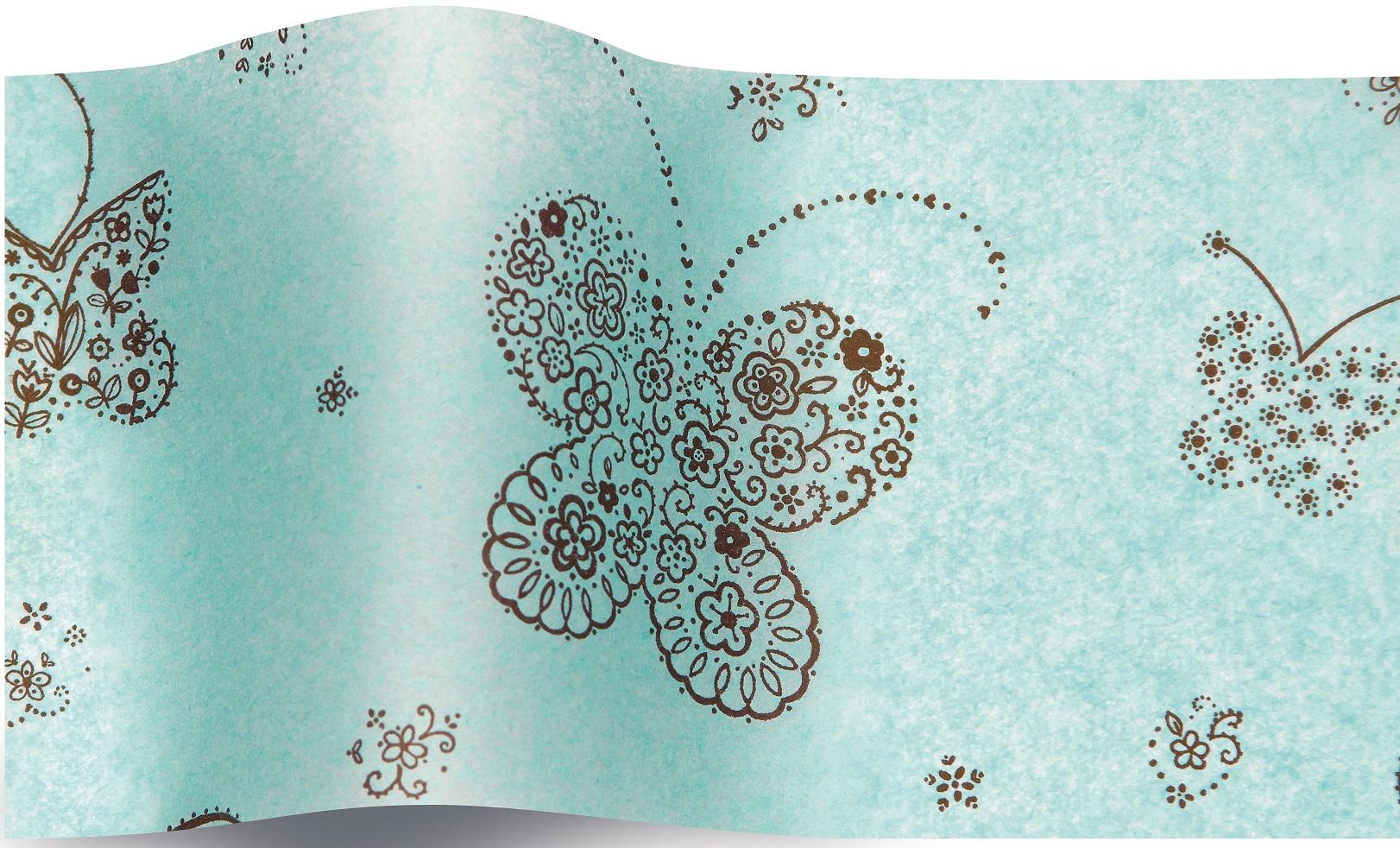 papier de soie papillon