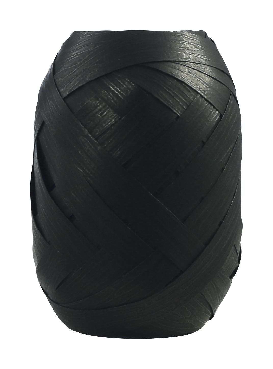 Oeuf - Ruban bolduc noir mat