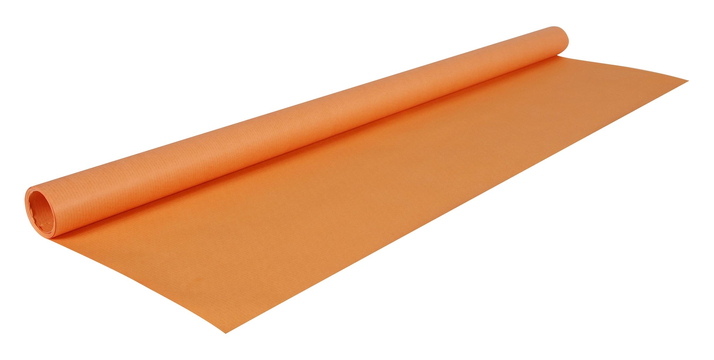 papier kraft orange