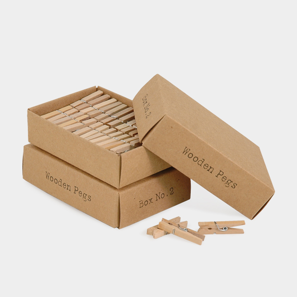 Atelier - 52 mini pegs dans une boite