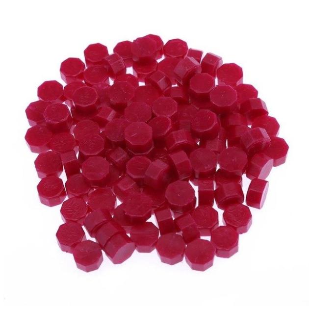 Rouge vintage - 100 granulés de cire pour sceau