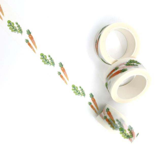 Easter - Masking tape avec des carottes