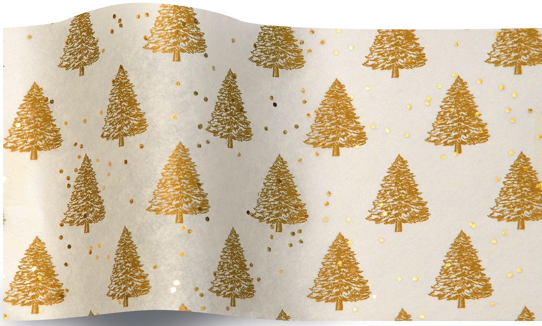 Sapin - 5 feuilles de papier de soie Noël