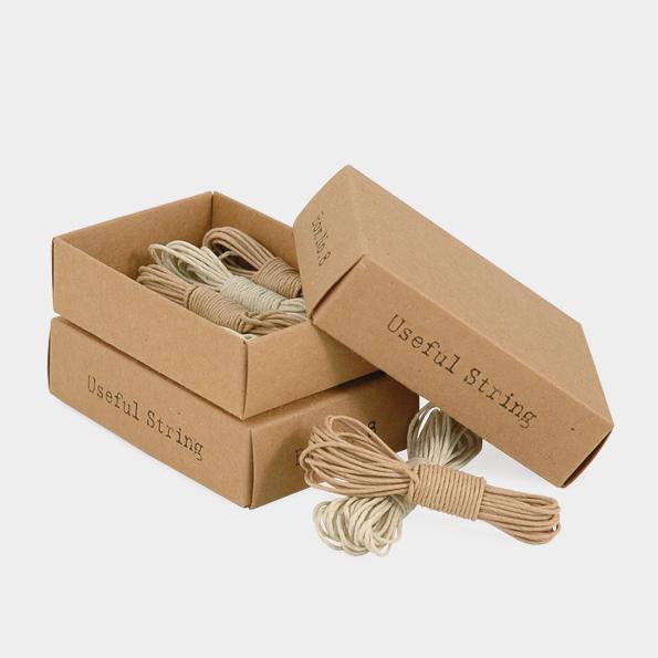 Atelier - Boite de 4 ficelles papier