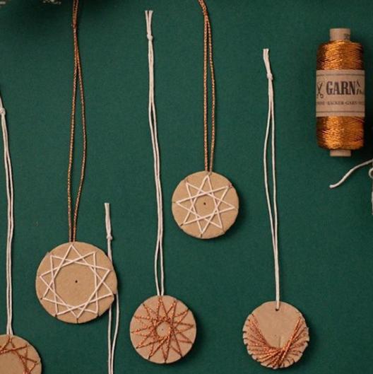 Vintage - Rouleau de baker twine cuivre