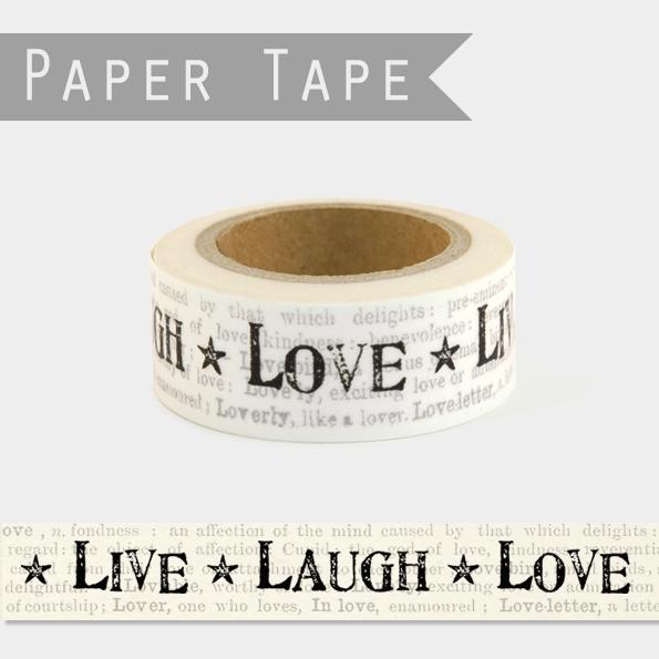 Love - Masking tape 10m