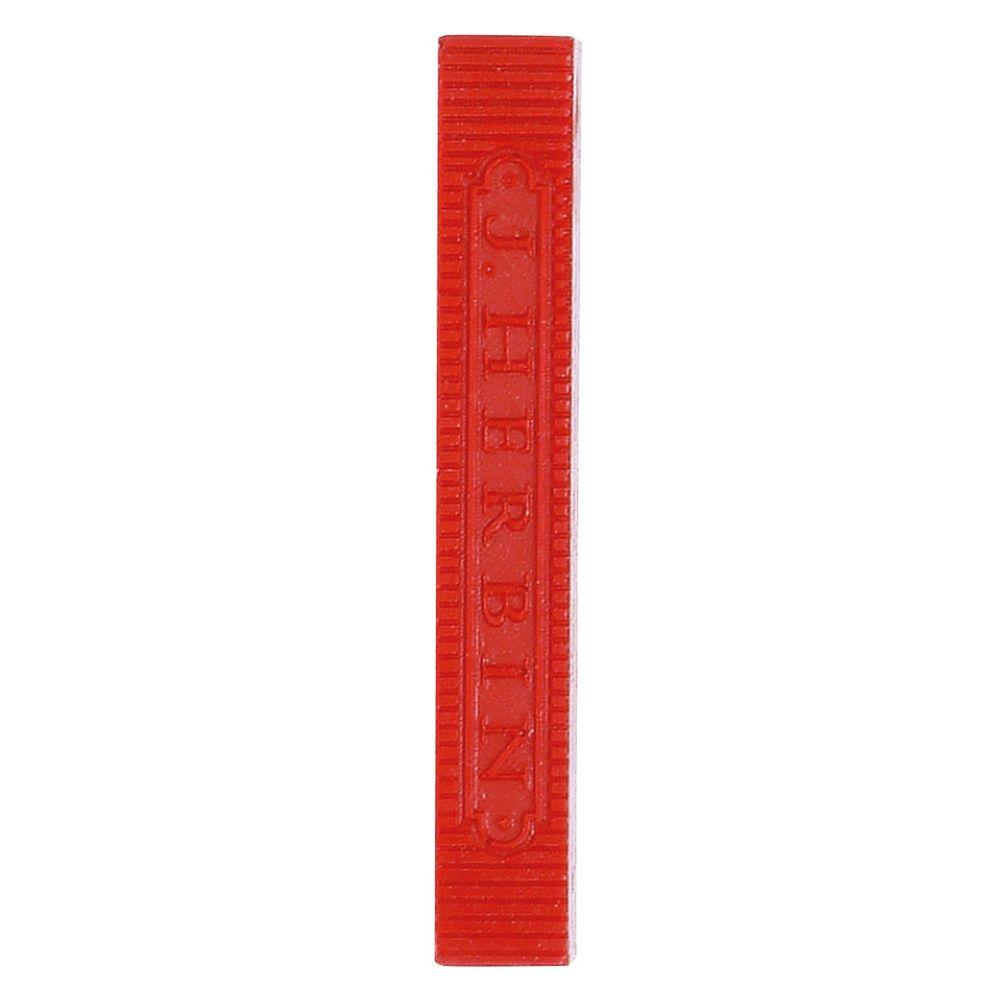 Herbin - 4 bâtons de cire rouge