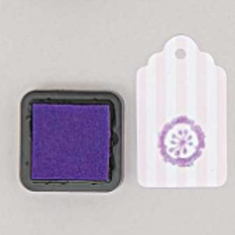 DIY - Petit encreur violet pour tampon