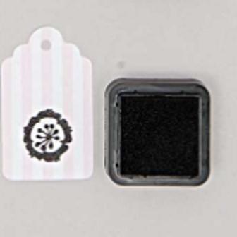 DIY - Petit encreur noir pour tampon