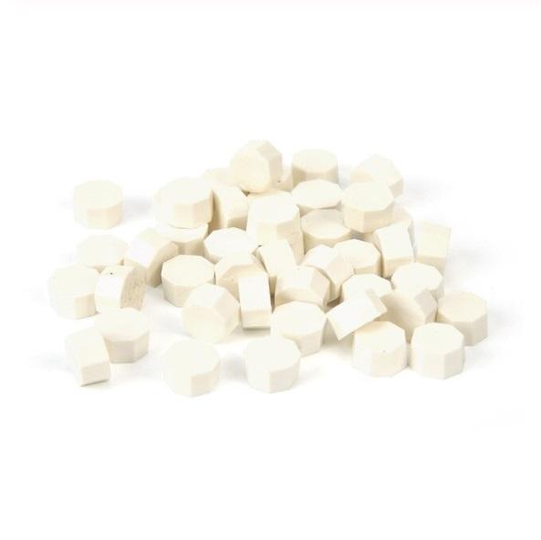 granulé de cire blanche