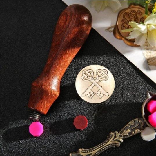 sceau avec des clés