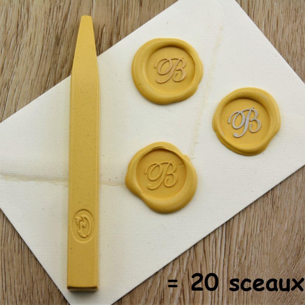 Luxe - Bâton de cire jaune de grande qualité