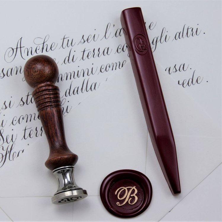 Luxe - Bâton de cire rouge vénitien