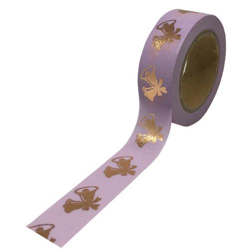 Cloche - Masking tape dorée