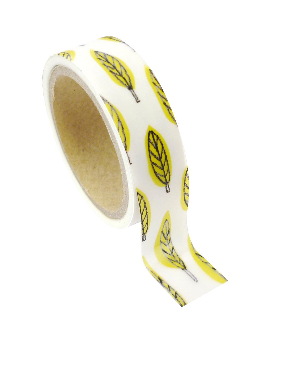 Feuilles - Masking tape 10m