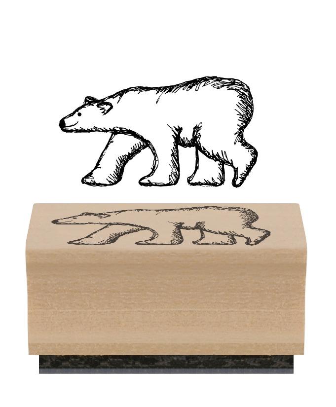 tampon avec un ours