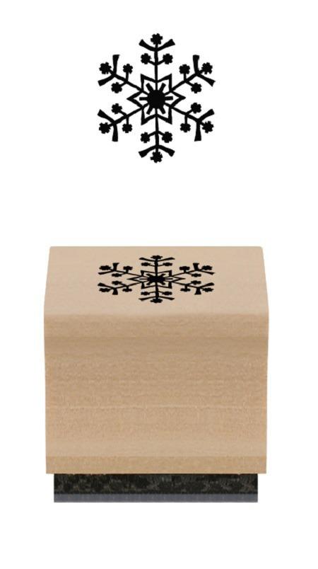 tampon flocon de neige