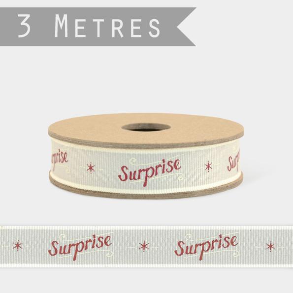 Surprise - 3m de ruban fantaisie
